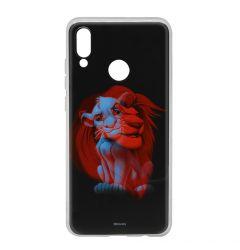 Husa Huawei P20 Lite Disney Silicon Simba and Friends 001 Black