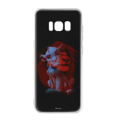 Husa Samsung Galaxy S8 G950 Disney Silicon Simba and Friends 001 Black