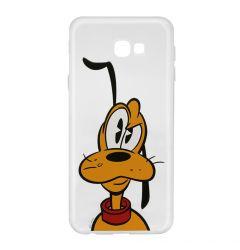 Husa Samsung Galaxy J4 Plus Disney Silicon Pluto 001 Clear