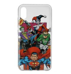 Husa Huawei Y6 2019 DC Comics Silicon Justice League 004 Clear