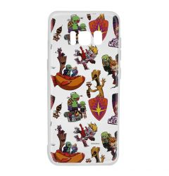 Husa Samsung Galaxy S8 G950 Marvel Silicon Guardians of the Galaxy 007 Clear