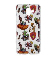 Husa Samsung Galaxy J6 Plus Marvel Silicon Guardians of the Galaxy 007 Clear