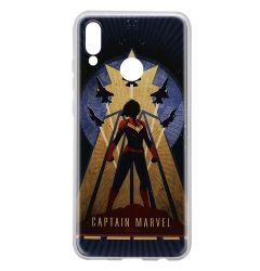 Husa Huawei P Smart (2019) / Honor 10 Lite Marvel Silicon Captain Marvel 002 Navy Blue