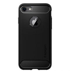 Husa iPhone 8 / 7 Spigen Rugged Armor Black
