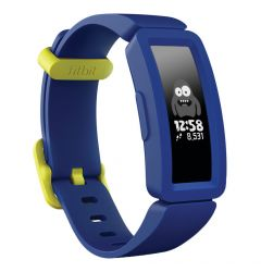 Bratara Fitness Fitbit Ace 2 Kids Activity Tracker Night Sky / Neon Yellow