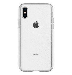 Husa iPhone XS / X Spigen Liquid Crystal Glitter Crystal Quartz