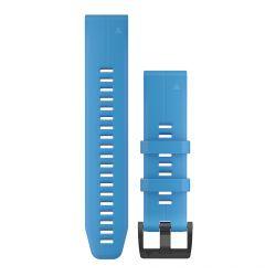 Curea Garmin QuickFit 22mm Silicon Blue Cyan