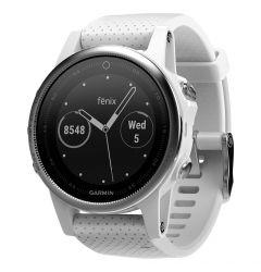 Smartwatch Garmin Fenix 5S HR Silver / White Carrara