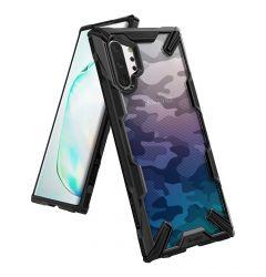 Husa Samsung Galaxy Note 10 Plus Ringke Fusion X Negru Camuflaj
