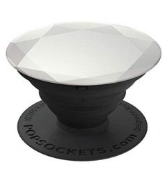 Suport Popsockets PopGrip Premium Stand Adeziv Diamond Medallion Gold Silver