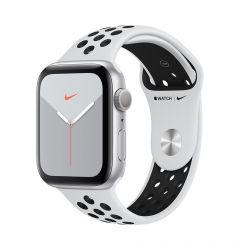 Watch 5 Original Apple Nike GPS Silver Aluminium Case 44mm cu Pure Platinum/Black Nike Sport Band