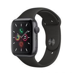 Watch 5 Original Apple GPS Space Grey Aluminium Case 44mm cu Black Sport Band