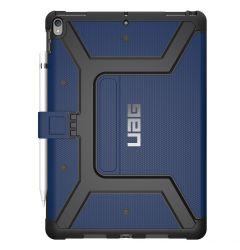 Husa iPad 7 10.2 inch UAG Book Metropolis Series Cobalt Blue