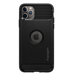 Husa iPhone 11 Pro Spigen Rugged Armor Black