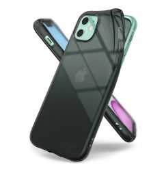 Husa iPhone 11 Ringke Silicon Air Smoke Black