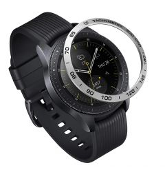 Samsung Galaxy Watch 42mm Ringke Rama Ornamentala Aluminiu Argintiu