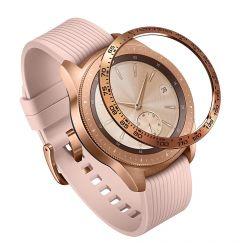 Samsung Galaxy Watch 42mm Ringke Rama Ornamentala Otel Inoxidabil Rose Gold