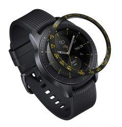 Samsung Galaxy Watch 42mm Ringke Rama Ornamentala Otel Inoxidabil Negru / Auriu