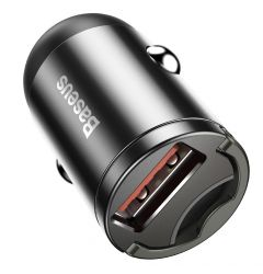 Incarcator Auto Port USB Baseus Tiny Star Mini Quick Charge Gray