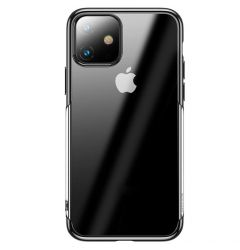 Husa iPhone 11 Baseus Silicon Shining Black
