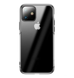 Husa iPhone 11 Baseus Silicon Shining Silver