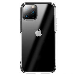 Husa iPhone 11 Pro Max Baseus Silicon Shining Silver