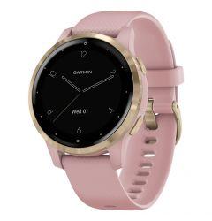 Smartwatch Garmin Vivoactive 4s Rose Gold, Silicone Dust Rose