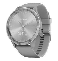 Smartwatch Garmin Vivomove 3 Silver, Silicone Gray (carcasa din otel)