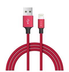 Cablu Lightning Devia Pheez Series Red 1m