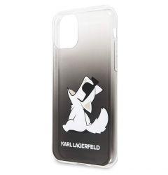 Husa iPhone 11 Pro Max Karl Lagerfeld Colectia Fun Glasses Choupette Negru