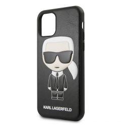 Husa iPhone 11 Pro Max Karl Lagerfeld Colectia Ikonik Negru