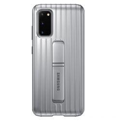 Husa Samsung Galaxy S20 Samsung Protective Standing Silver