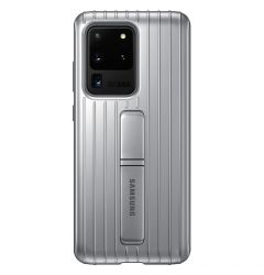 Husa Samsung Galaxy S20 Ultra Samsung Protective Standing Silver