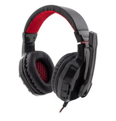 Casti Gaming White Shark GHS-1641 Panther Black & Red