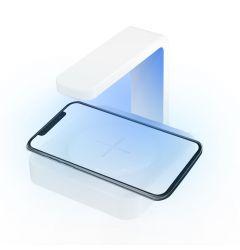 SM Sterilizator UV cu Incarcator Wireless Alb