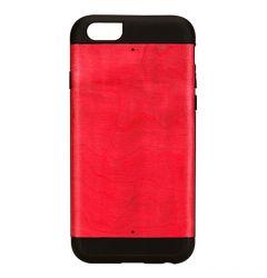 Resigilat Carcasa iPhone 6/6S Man&Wood Lemn cu TPU Azelea