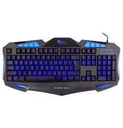 White Shark Tastatura Gaming Shogun Black & Blue