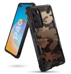 Husa Huawei P40 Ringke Fusion X Negru Camuflaj