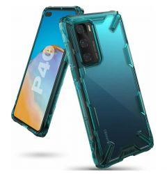 Husa Huawei P40 Ringke Fusion X Verde Turcoaz