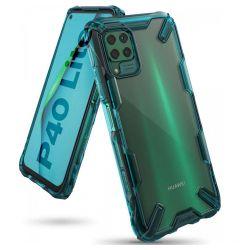 Husa Huawei P40 Lite Ringke Fusion X Verde Turcoaz