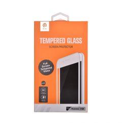 Folie Huawei P20 Devia Frame Sticla Temperata Black resigilat