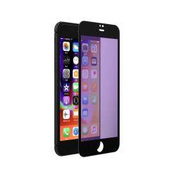 Resigilat Folie iPhone 8 / 7 Devia Sticla Eagle Eye 2 Anti-BlueRay Black (0.18mm, 9H, folie spate in