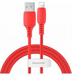Cablu Lightning Baseus Colourful Red