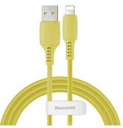 Cablu Lightning Baseus Colourful Yellow