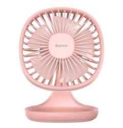 Ventilator Baseus Pudding Shaped Fan Pink