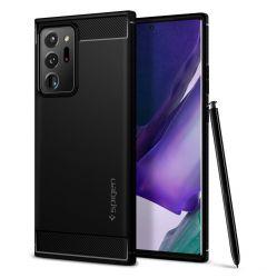 Husa Samsung Galaxy Note 20 Plus Spigen Rugged Armor Black