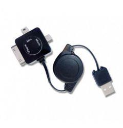 Cablu MiniUSB/MicroUSB/30pini Procell Multicablu