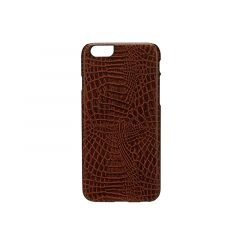 Carcasa iPhone 6/6S iKins Croco Dark Brown