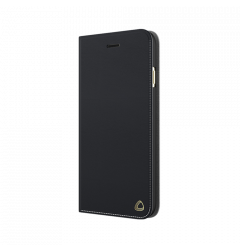 Husa iPhone 6/6S Occa Book Jacket Black (piele naturala)