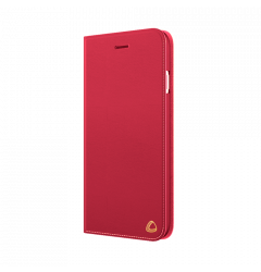 Husa iPhone 6/6S Occa Book Jacket Red (piele naturala)